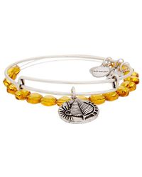 ALEX AND ANI - Exclusives Renewal Set Of 2 Expandable Bracelets - Lyst