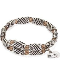 ALEX AND ANI - Depths Of The Wild Forest's Blessing Wrap Bracelet - Lyst