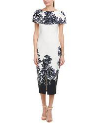 Kay Unger - Sheath Dress - Lyst