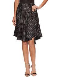 Alaïa - Embroidered Asymmetric Skirt - Lyst