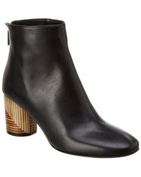 Taryn Rose - Francesca Leather Ankle Boot - Lyst