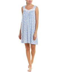 Eileen West - Soft Knit Printed Nightgown - Lyst