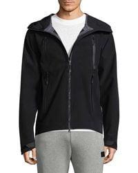 New Balance - Three Layer Zip Jacket - Lyst