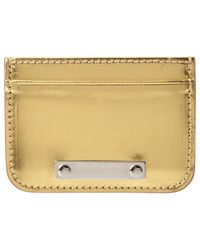 Sophie Hulme - Metallic Leather Cardholder - Lyst