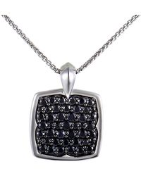 Stephen Webster - Silver & Rhodium 3.17 Ct. Tw. Sapphire Necklace - Lyst