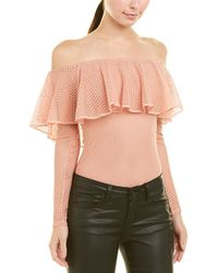 BCBGMAXAZRIA - Off-the-shoulder Bodysuit - Lyst