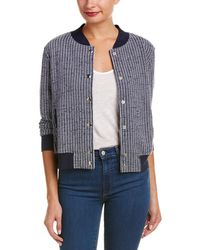 Sol Angeles - Striped Bomber Jacket - Lyst