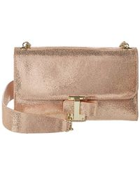 Halston - Small Convertible Leather Wallet On Chain - Lyst