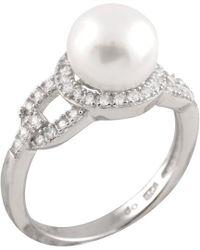 Splendid - Silver 8-8.5mm Freshwater Pearl Ring - Lyst