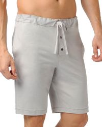 Naked - Knit Cotton Sleep Short - Lyst