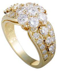 Heritage Van Cleef & Arpels - Van Cleef & Arpels 18k 1.75 Ct. Tw. Diamond Ring - Lyst