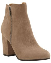Lucky Brand - Shaynah Leather Bootie - Lyst