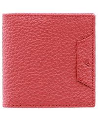 Brioni - Leather Business Coin Purse - Lyst