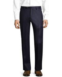Lubiam - Wool Dress Pant - Lyst