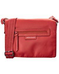 Longchamp - Le Pliage Neo Canvas Messenger Bag - Lyst