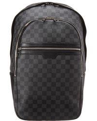 1b5a4be80184 Louis Vuitton - Damier Graphite Canvas Michael - Lyst