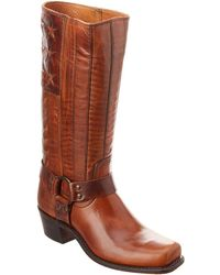 Frye - Harness Americana Leather Boot - Lyst