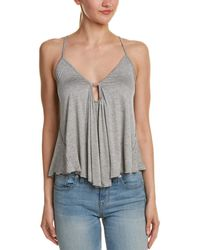 Mustard Seed - Shirred Keyhole Top - Lyst