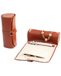 Bey-berk - Leather Jewellery Roll - Lyst
