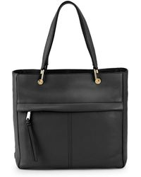 Cole Haan - Kathlyn Leather Work Tote - Lyst