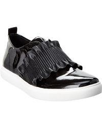 Donald J Pliner - Samie Patent Sneaker - Lyst
