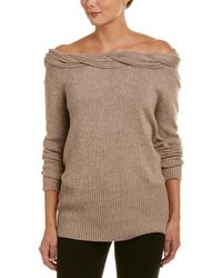 Fate - Off-the-shoulder Jumper - Lyst