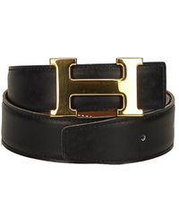 Hermès - Constance Leather Belt (size 60) - Lyst