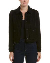 Rebecca Taylor - Sparkle Tweed Wool-blend Jacket - Lyst