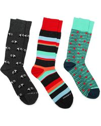 Unsimply Stitched - 3-pack Socks - Lyst