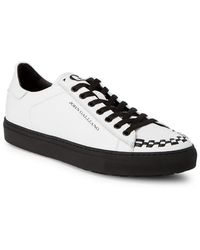 John Galliano - Braided Leather Sneaker - Lyst