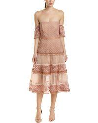 Bardot - Kristen A-line Dress - Lyst