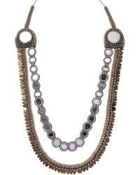 Deepa Gurnani - Tassel Statement Necklace - Lyst