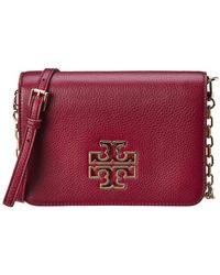 Tory Burch - Britten Combo Leather Crossbody - Lyst