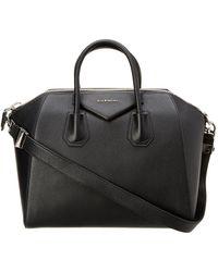Givenchy - Antigona Medium Leather Satchel - Lyst