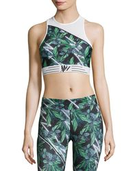 We Are Handsome - Active Long Line Sports Bra - Lyst