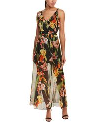 Haute Rogue - Crossover Maxi Dress - Lyst