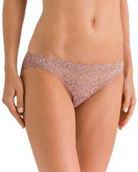 Hanro - Luxury Moments Bikini Panty - Lyst