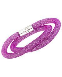 Swarovski - Wrap Bracelet - Lyst