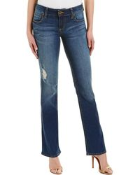 Kut From The Kloth - Natalie Dark Stone High-rise Bootcut - Lyst