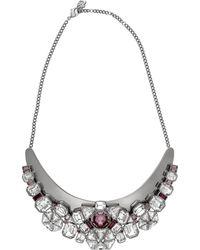 Swarovski - Crystal Diana Plated Necklace - Lyst