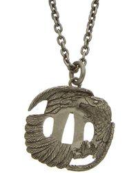 Valentino - Brass Eagle Pendant - Lyst