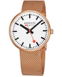 Mondaine - Giant Mini Watch - Lyst
