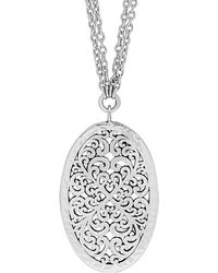 Lois Hill - Silver Necklace - Lyst