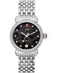 Michele - Women's Csx Diamond Watch - Lyst