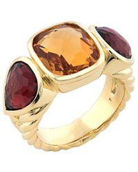 David Yurman - David Yurman Mosaic 18k 8.60 Ct. Tw. Gemstone Ring - Lyst