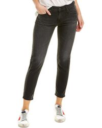 AG Jeans The Ex-boyfriend 7 Years Visceral Slouchy Slim Leg - Black