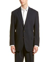 Brooks Brothers - Wool-blend Suit With Pleated Pant - Lyst