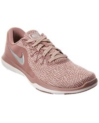 74b0c2ce753d Nike Women s Flex Supreme Tr 5 Training Shoe in Gray - Lyst