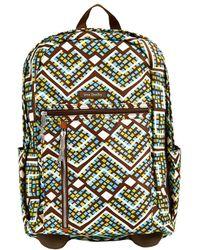 Vera Bradley - Rain Forest Lighten Up Rolling Backpack - Lyst