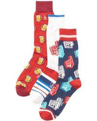 Original Penguin - Pack Of 3 Socks - Lyst